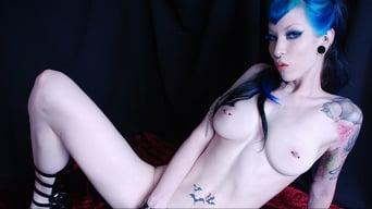 Razor Candi in 'Pale Skinned Blue Haired Punk Beauty Razor Candi'